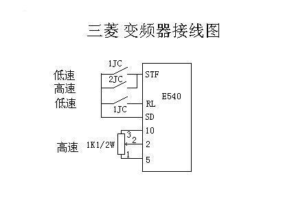 三菱e540变频器在a456d型粗纱机的应用