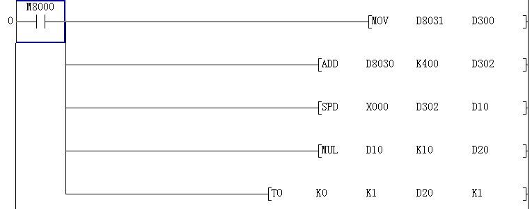 三菱plc接线图解释