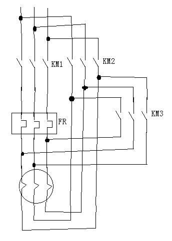 星三角接线; 正反转电路图;