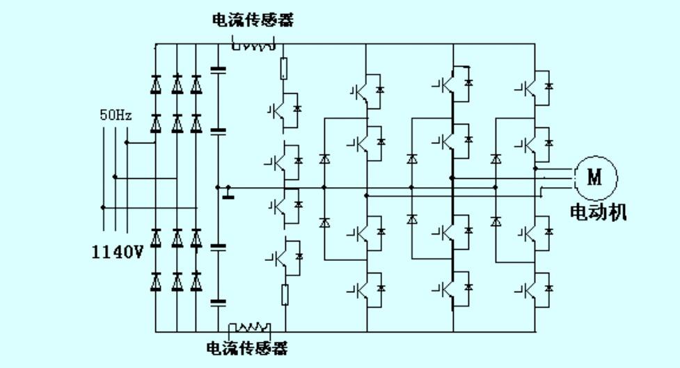 后来断电后用万用表检测熔断器两端阻值,有一相通,另两相断,因此断定