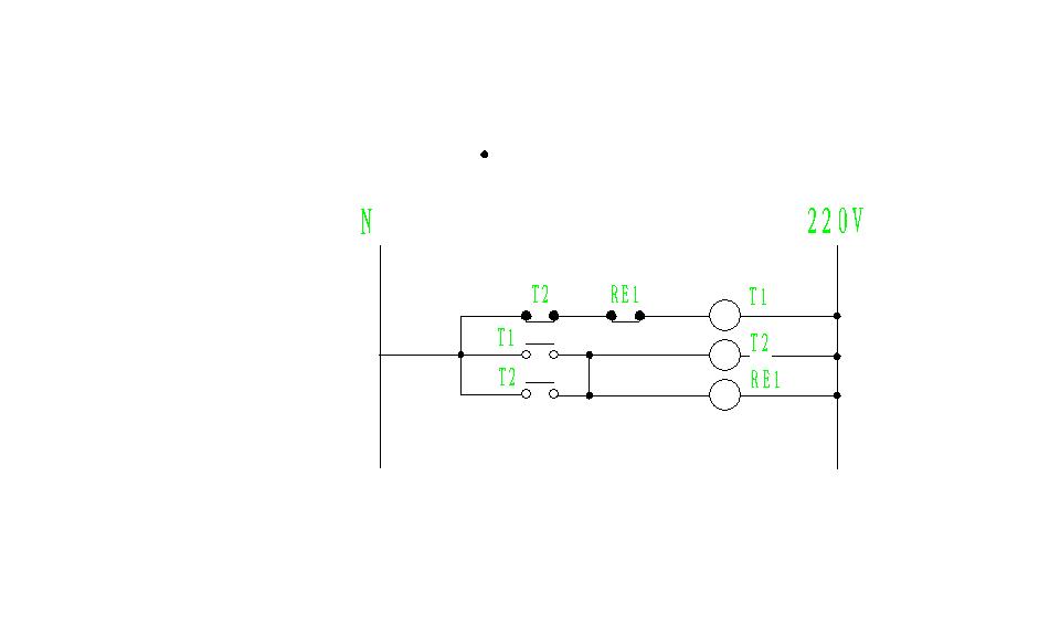循环时间控制继电器输出