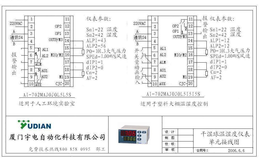 厦门宇电自动化科技有限公司     技术服务部 邵工 13063058280直线