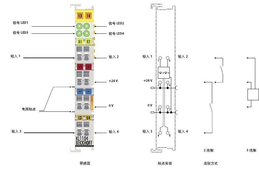 对于正负极变换的io端子注意信号电压,连接方式.
