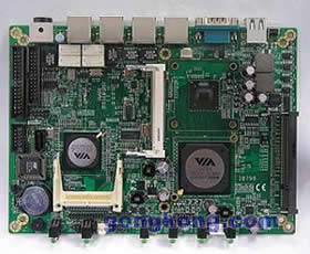 广积科技推出内置VIA TwisterT 芯片组的5.25寸嵌入式