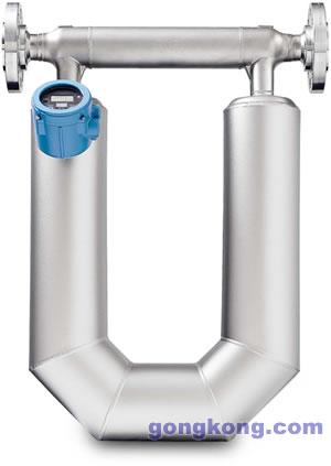艾默生新型高准科氏技术在宽广的含气状态应用中具有优越性能
