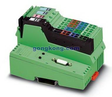 使用单独的电源跨接线可以给现场总线耦合器和相连的自动化模块提供