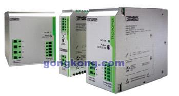菲尼克斯电气推出DIN导轨安装新品电源TRIO Power Supply