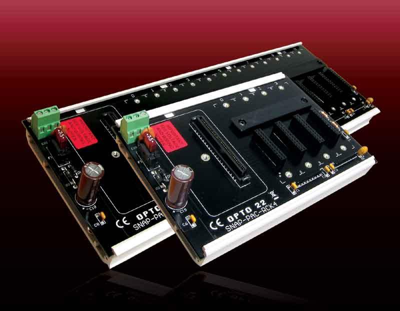 Opto 22推出新的SNAP PAC Racks(底板)
