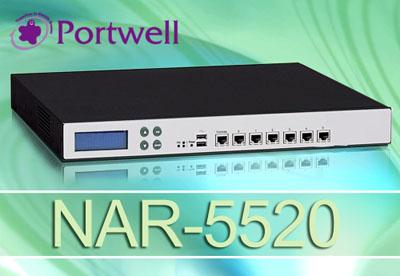瑞传推出高性价比1U网安设备--NAR-5520