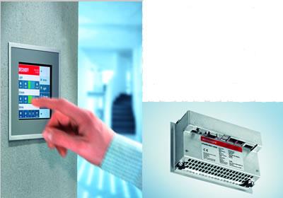 基于Windows CE 系统的超紧凑型控制器5.7 英寸的以太网控制面板
