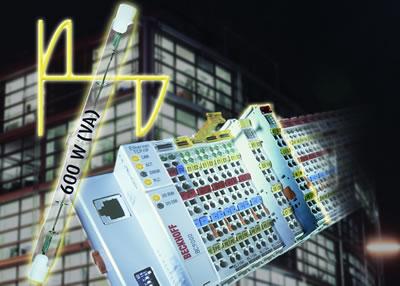 倍福带诊断功能的通用调光器总线端子模块kl2761