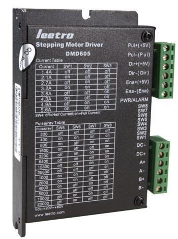 乐创自动化推出纯正弦电流控制步进细分驱动器dmd605