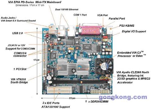 苹果7手机主板元件认识图解