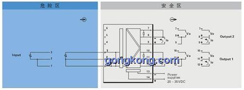 重庆宇通 tm 5920热电阻信号输入隔离式安全栅(一入二