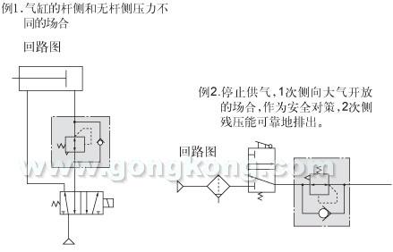 smc 带逆流功能的减压阀 ar20k~60k图片