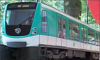 RATP公司在巴黎新地铁(MF