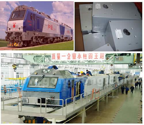 美卡诺公司的铸铝机箱在车辆行业制造和谐号电力机车上的应用